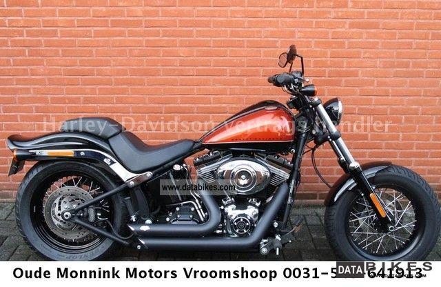 Harley Davidson  FXS Blackline 2011 abs conversion 2011 Tourer photo