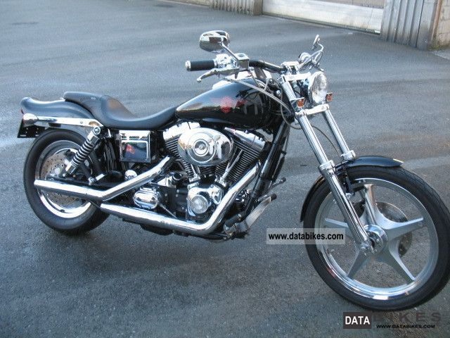 2001 Harley Davidson  FXDWG - Wide Glide Motorcycle Chopper/Cruiser photo