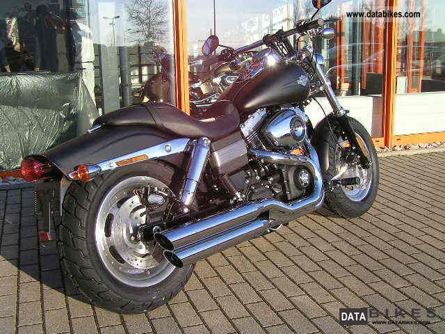 2011 Harley Davidson  -Later Fat Bob Motorcycle Chopper/Cruiser photo