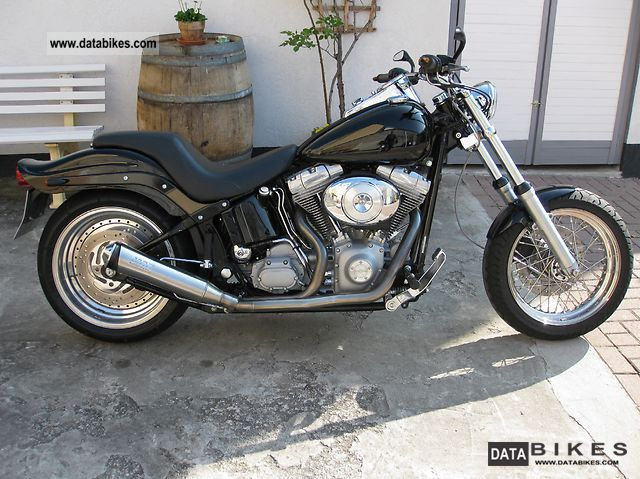 2002 Harley Davidson  Softtail CONVERSION Motorcycle Chopper/Cruiser photo