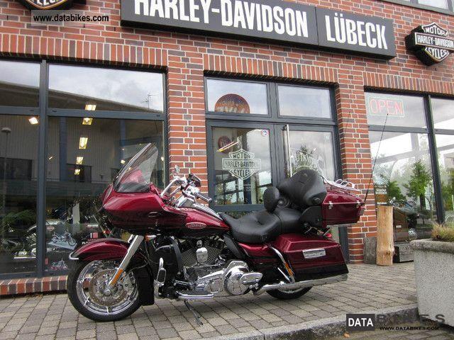 2011 Harley Davidson  FLTRUSE CVO Road Glide Motorcycle Chopper/Cruiser photo