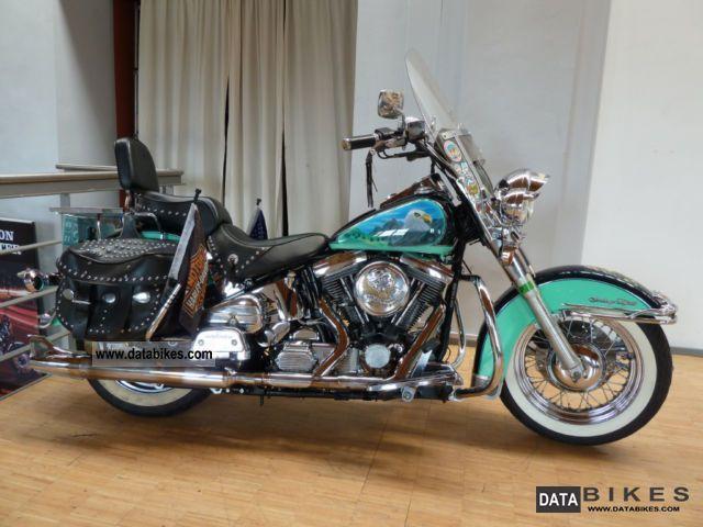 1990 Harley Davidson  FLSTC Softail Classic Motorcycle Chopper/Cruiser photo