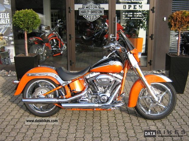 2011 Harley Davidson  CVO Softail FLST Convertible Screamin Eagle Motorcycle Chopper/Cruiser photo