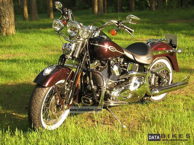 2005 Harley Davidson  Harley-Davidson Heritage Springer Motorcycle Chopper/Cruiser photo