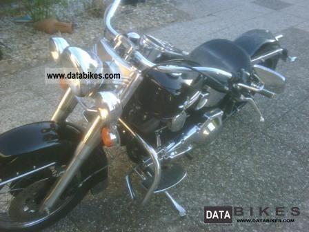 1997 Harley Davidson  FLSTC Heritage Softail Classic Motorcycle Chopper/Cruiser photo