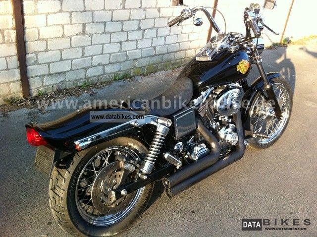 2002 Harley Davidson  Wide Glide FXDWG neat bike in black Motorcycle Chopper/Cruiser photo
