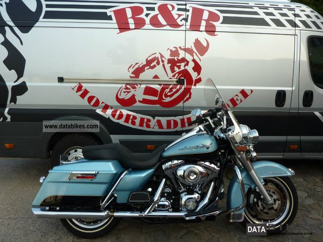2008 Harley Davidson  Road King FLHR Six Speed ​​Cruise Motorcycle Chopper/Cruiser photo