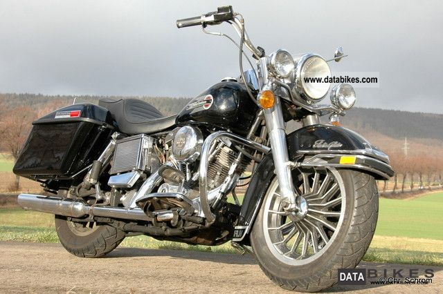 1979 Harley Davidson  1200 E-Glide FLH 1979 Shovelhead Motorcycle Chopper/Cruiser photo
