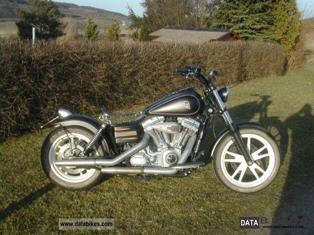 2006 Harley Davidson  Streetbob, Dyna FXD, FXDBI, 6 speed, custom Motorcycle Chopper/Cruiser photo