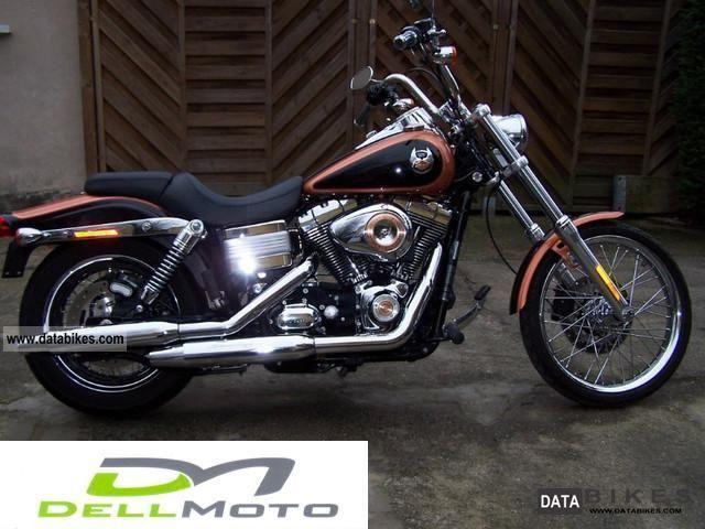 2008 Harley Davidson  FXDWGI Wide Glide Motorcycle Chopper/Cruiser photo