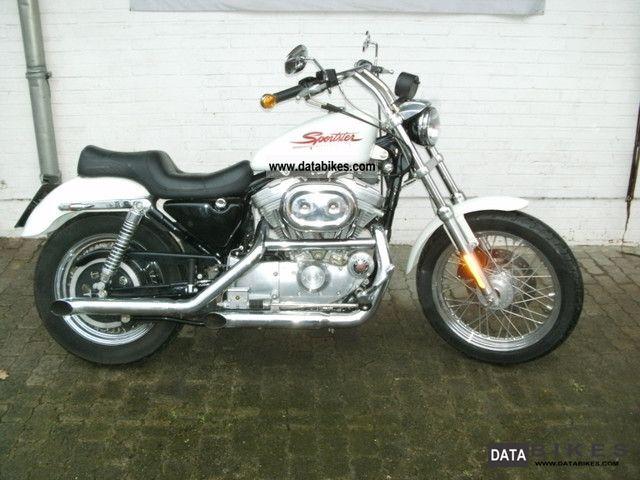 2000 Harley Davidson  XLH 883 Motorcycle Chopper/Cruiser photo
