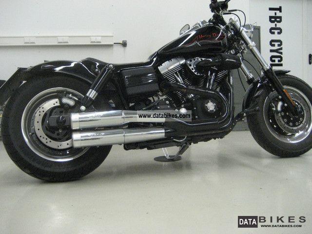 2009 Harley Davidson  Dyna Fat Bob T.C. 990km!! Motorcycle Chopper/Cruiser photo