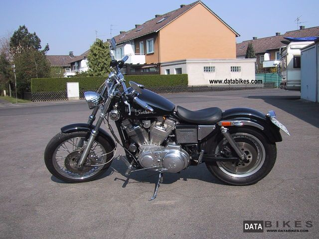 1992 Harley Davidson  Sportster XL2 Motorcycle Chopper/Cruiser photo