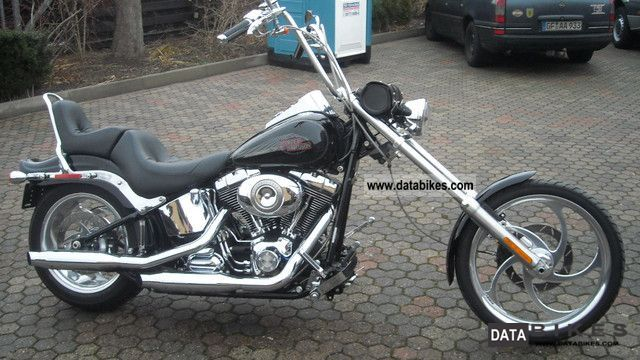 2008 Harley Davidson  FS2 Softail Custom Motorcycle Chopper/Cruiser photo