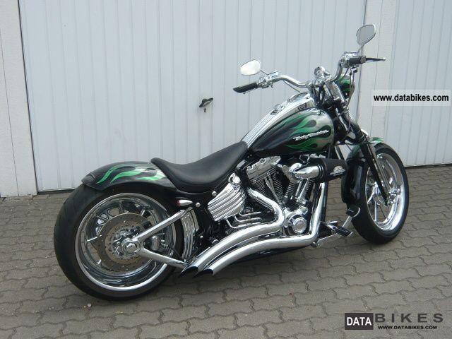 2009 Harley Davidson  FXSTSSE3 CVO Softail Springer Screamin Eagle Motorcycle Chopper/Cruiser photo