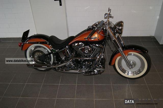 1992 Harley Davidson  FXST Softail Fat Boy Motorcycle Chopper/Cruiser photo