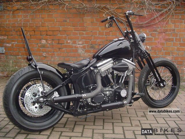 1989 Harley Davidson  FXSTC Bobber Motorcycle Chopper/Cruiser photo