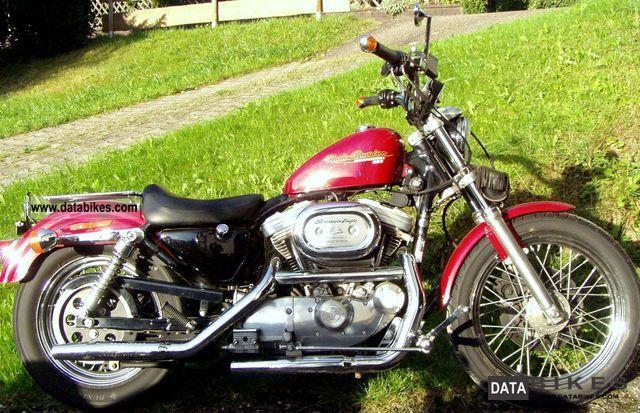 Harley Davidson  Sportster 883 Hugger - like new 1995 Chopper/Cruiser photo