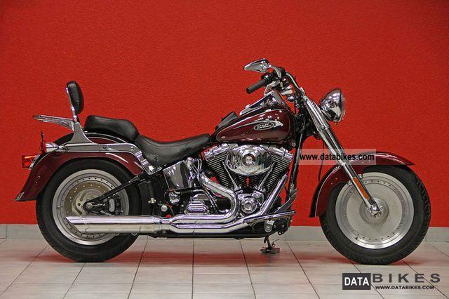 Harley Davidson  2003s Fat Boy FLSTFI Twin Cam Max Thunder 2003 Chopper/Cruiser photo