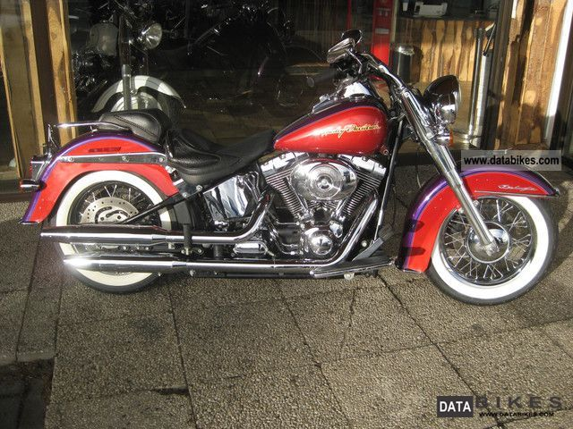 2006 Harley Davidson  Heritage Softail Deluxe Deluxe Motorcycle Chopper/Cruiser photo