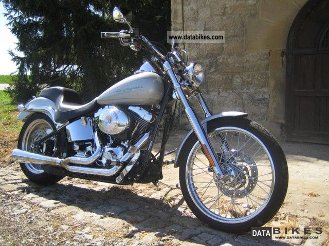 2001 Harley Davidson  FXSTD Softail Deuce Custom TC88 carburetor Motorcycle Chopper/Cruiser photo