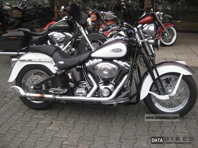 2005 Harley Davidson  Heritage Softail Springer FLSTS Motorcycle Chopper/Cruiser photo