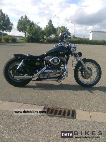 1986 Harley Davidson  Sportster Motorcycle Chopper/Cruiser photo