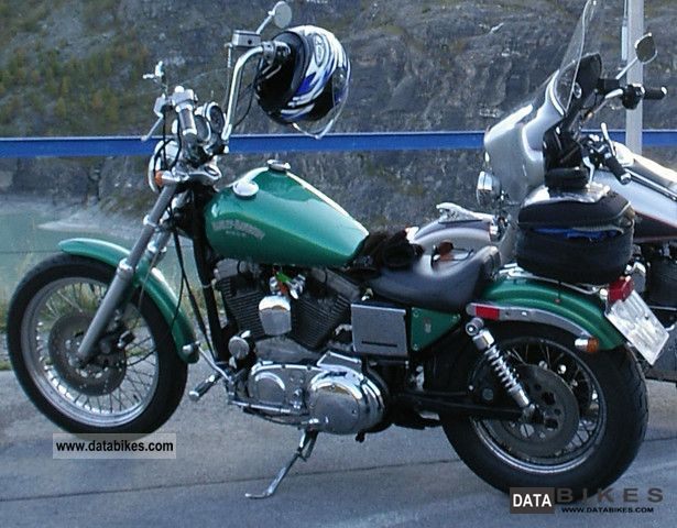 1992 Harley Davidson  Sportster 1200 XL / 2 Motorcycle Chopper/Cruiser photo