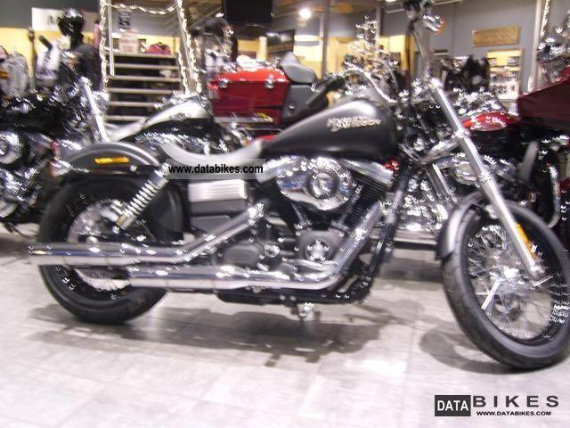 2011 Harley Davidson  FXDB Dyna Street Bob Bobber 2012 ABS Motorcycle Chopper/Cruiser photo