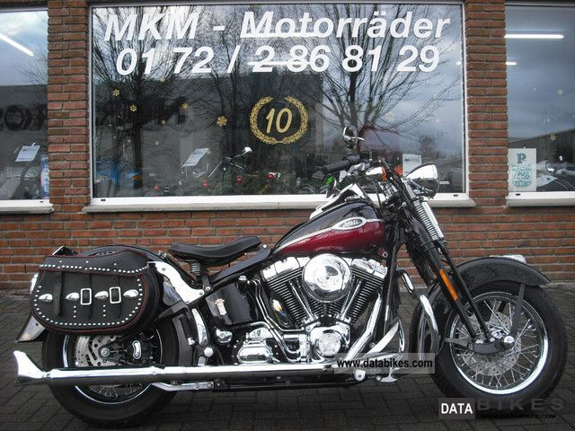 2005 Harley Davidson  Springer Softail Custom Oldschool Motorcycle Chopper/Cruiser photo