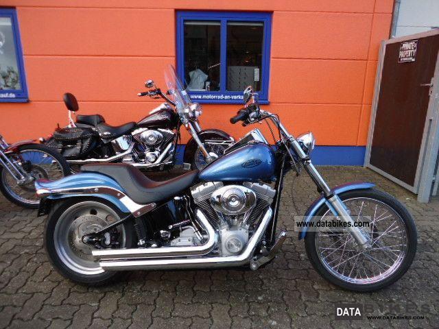 2006 Harley Davidson  FXSTI Softail Custom Standard 200 \ Motorcycle Chopper/Cruiser photo