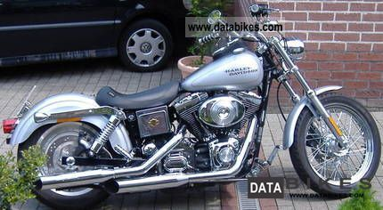 2002 Harley Davidson  Dyna Low Rider Motorcycle Chopper/Cruiser photo