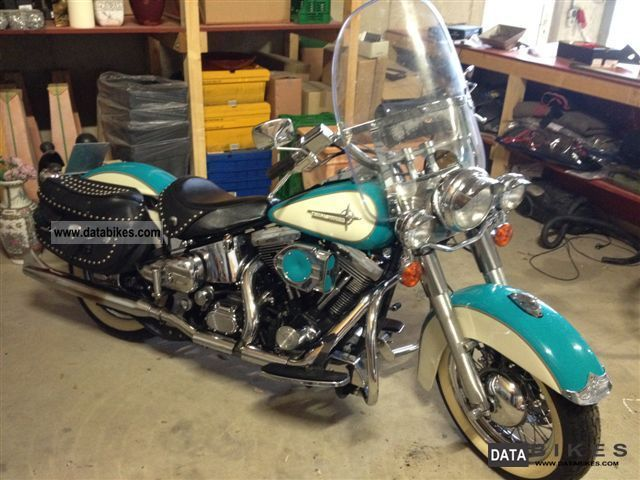 1991 Harley Davidson  Heritage Softtail FXST Motorcycle Chopper/Cruiser photo