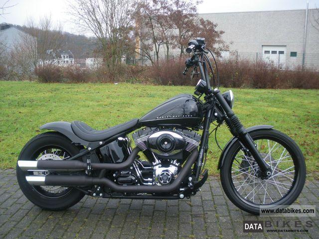 2011 Harley Davidson  Softail FXS Blackline conversion Motorcycle Chopper/Cruiser photo