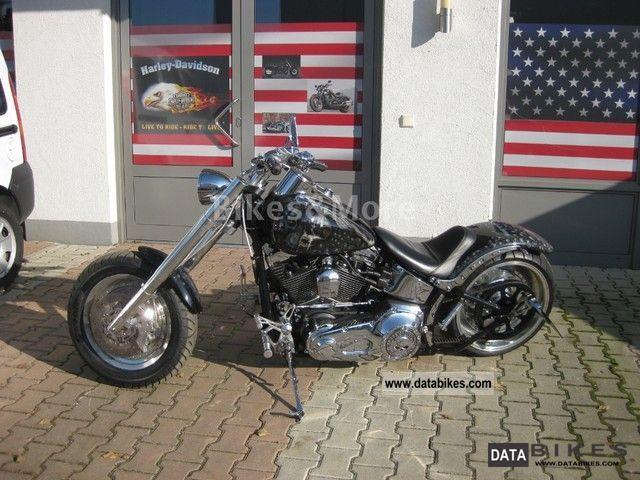 Harley Davidson  Fat Boy FLSTF 2000 Chopper/Cruiser photo