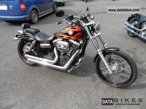 2010 Harley Davidson  FXDWG WGlide Motorcycle Motorcycle photo