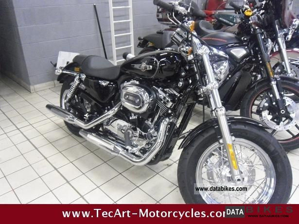 2012 Harley Davidson  SPORTSTER 1200 C - 2012 NEW - including ALL costs Motorcycle Chopper/Cruiser photo