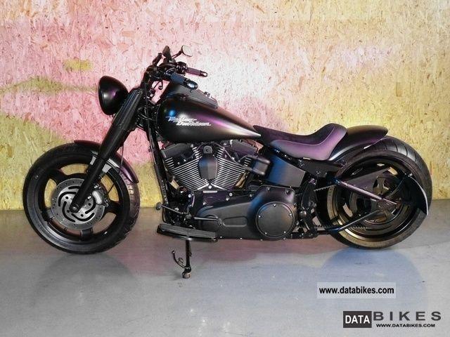 2008 Harley Davidson  FL Motorcycle Chopper/Cruiser photo