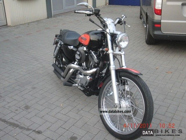 2008 Harley Davidson  Sportster 1200 Motorcycle Chopper/Cruiser photo