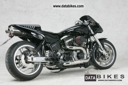 2000 Harley Davidson  Custom Bike Motorcycle Streetfighter photo