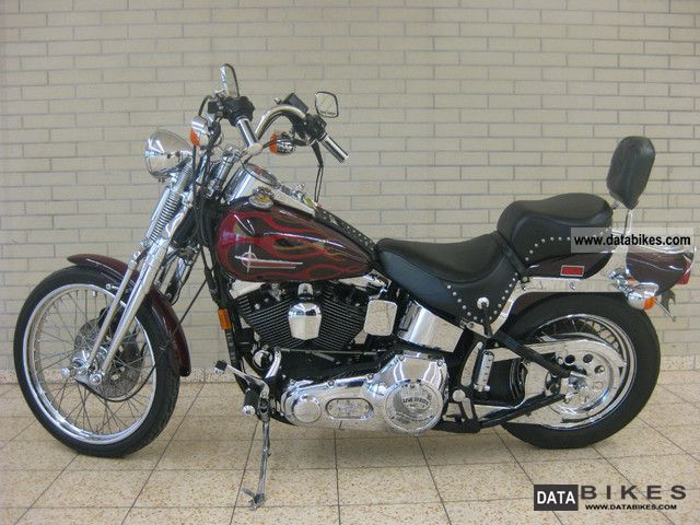 1993 Harley Davidson  Springer Softail Motorcycle Chopper/Cruiser photo
