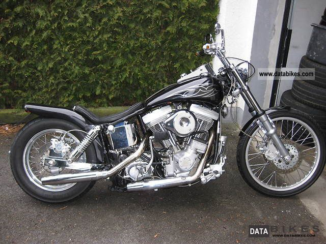 1984 Harley Davidson  Wild Glide FXWG 1340 EVO Motorcycle Chopper/Cruiser photo