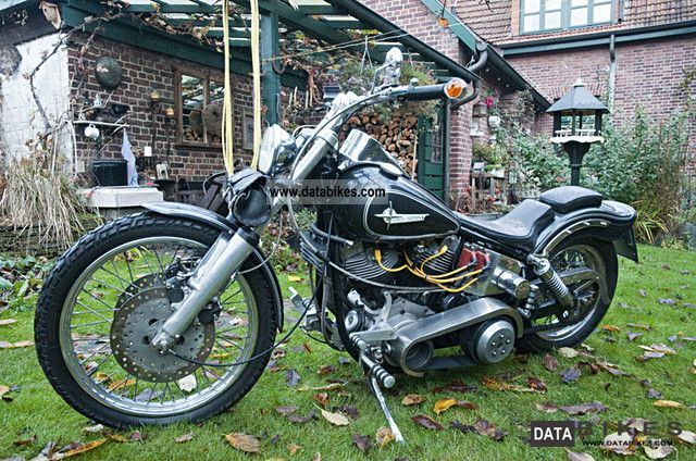 Harley Davidson  FXWD Shovel 1973 Vintage, Classic and Old Bikes photo