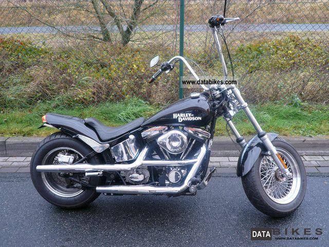 1987 Harley Davidson  FXST Motorcycle Chopper/Cruiser photo