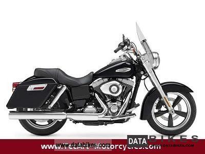 2011 Harley Davidson  2012er DYNA SWITCHBACK, black, Motorcycle Chopper/Cruiser photo