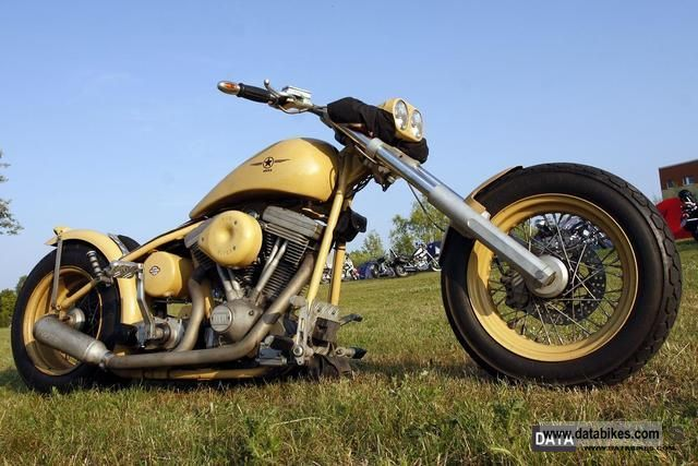 2000 Harley Davidson  Custom Evo Cup, barter & I Motorcycle Chopper/Cruiser photo