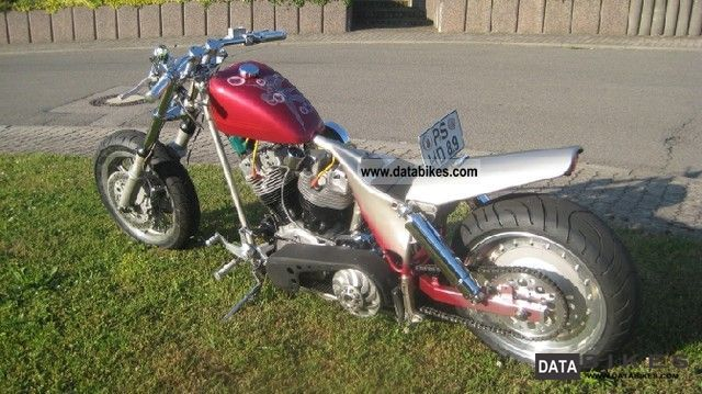 Harley Davidson  FL Pan-Shovel dragster now 7000, - € cheaper 1957 Vintage, Classic and Old Bikes photo