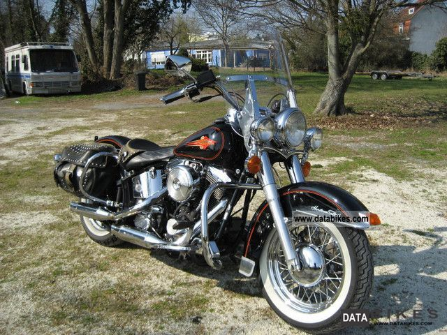1993 Harley Davidson  Heritage Softail German first delivery Motorcycle Motorcycle photo