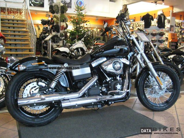 2011 Harley Davidson  Street Bob `12 ABS-German Fzg.! NEW & IMMEDIATELY! Motorcycle Chopper/Cruiser photo