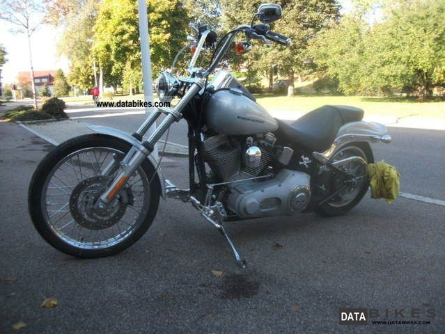 2006 Harley Davidson  FXSTI, No.72 of 200 distress sale Motorcycle Chopper/Cruiser photo